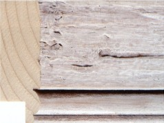Whitewash Driftwood Picture Frame