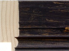 Charcoal Driftwood Picture Frame