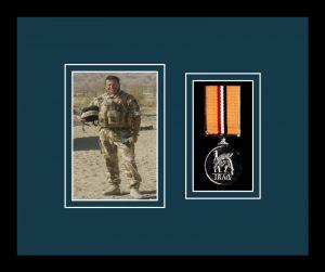 Military Medal Frame – M1PH-77i Black-Nightshade Mount