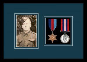 Military Medal Frame – M2PH-77i Black-Nightshade Mount