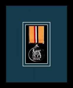 Military Medal Frame – M1-77i Black-Nightshade Mount