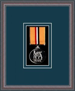 Military Medal Frame – M1-8C Oak-Nightshade Mount