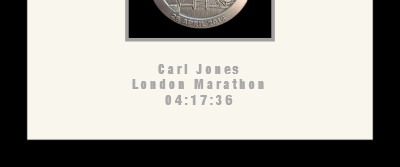Silver personalised text