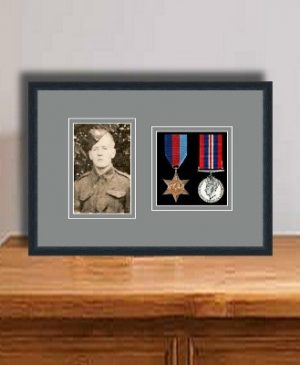 Frames For Two Medals and One Photo £26.39