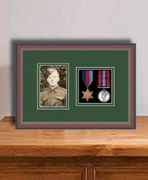 Frames For Two Medals and One Photo £34.67