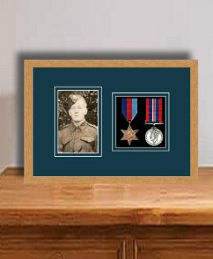 Frames For Two Medals and One Photo £32.90