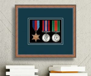 Frames For Three Military Medals £20.79