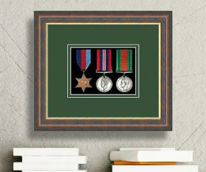 Frames For Three Military Medals £28.21