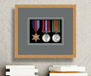 Frames For Three Military Medals £26.52
