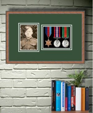 Frames For Three Medals and One Photo £27.79