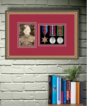 Frames For Three Medals and One Photo £36.36