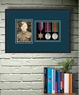 Frames For Three Medals and One Photo £34.57