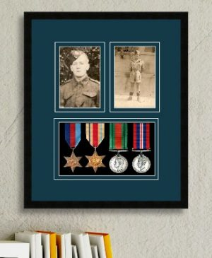Frames For Four Medals and Two Photos £42.26
