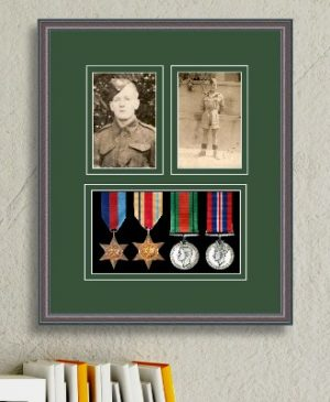 Frames For Four Medals and Two Photos £34.56
