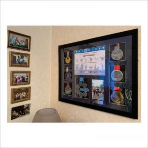 Made to measure world marathon majors frame
