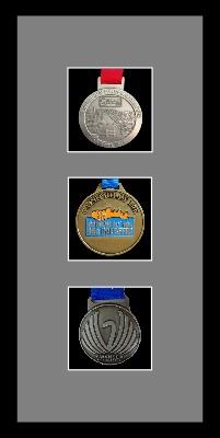 Marathon Medal Frame – S13-77i Black-Grey Mount