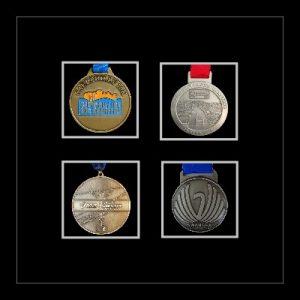 Marathon Medal Frame – S14-77i Black-Black Mount