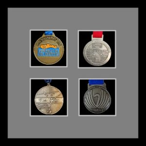 Marathon Medal Frame – S14-77i Black-Grey Mount