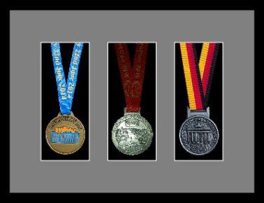 Marathon Medal Frame – S15-77i Black-Grey Mount