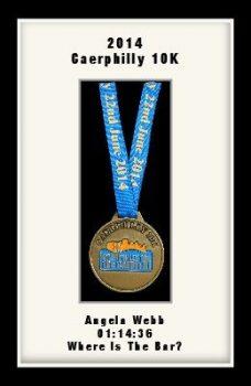 Personalised S2 Black Marathon Medal Frame