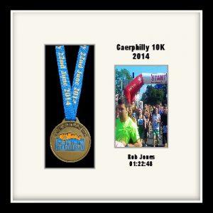 Personalised S2PH Black Marathon Medal Frame