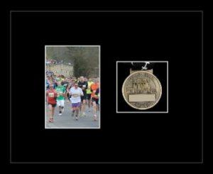 Marathon Medal Frame – S4-77i Black-Black Mount