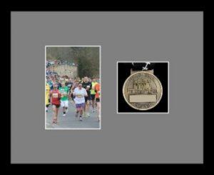 Marathon Medal Frame – S4-77i Black-Grey Mount