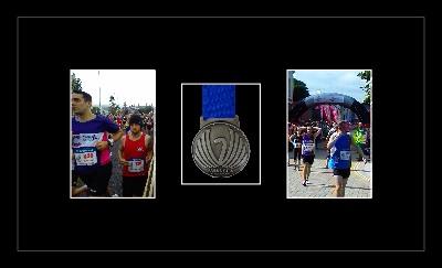 Marathon Medal Frame – S8-77i Black-Black Mount