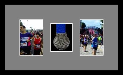 Marathon Medal Frame – S8-77i Black-Grey Mount