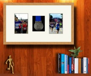Frames For One Marathon Medal and Two Photos £36.57