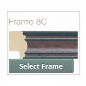 Picture frame designer select frame