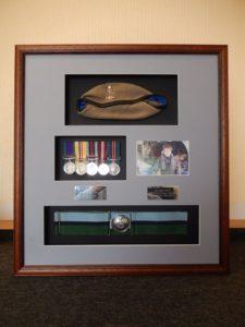 military frame