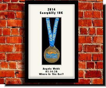 Personalised Medal Frames