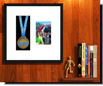 Sports medal frames